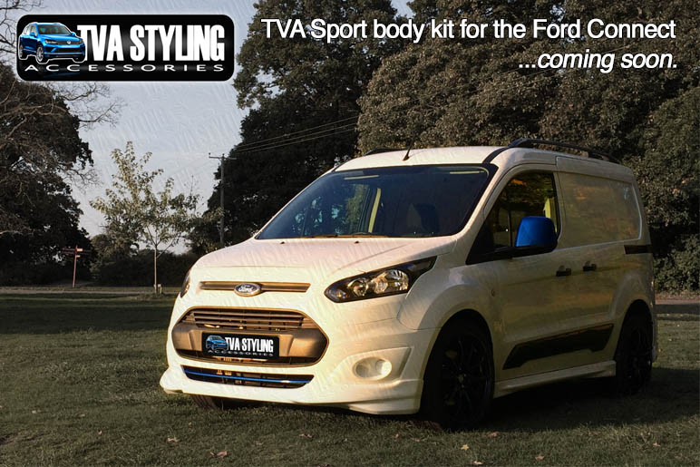 Transit 4x4 Van >> Ford Transit Connect Body Kit - Soon to be Released! - Trade Van Accessories 4x4 Styling at Best ...