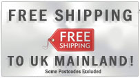Free Shipping - on all UK mainland orders. Some postcodes excluded